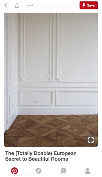 white trim bedroom
