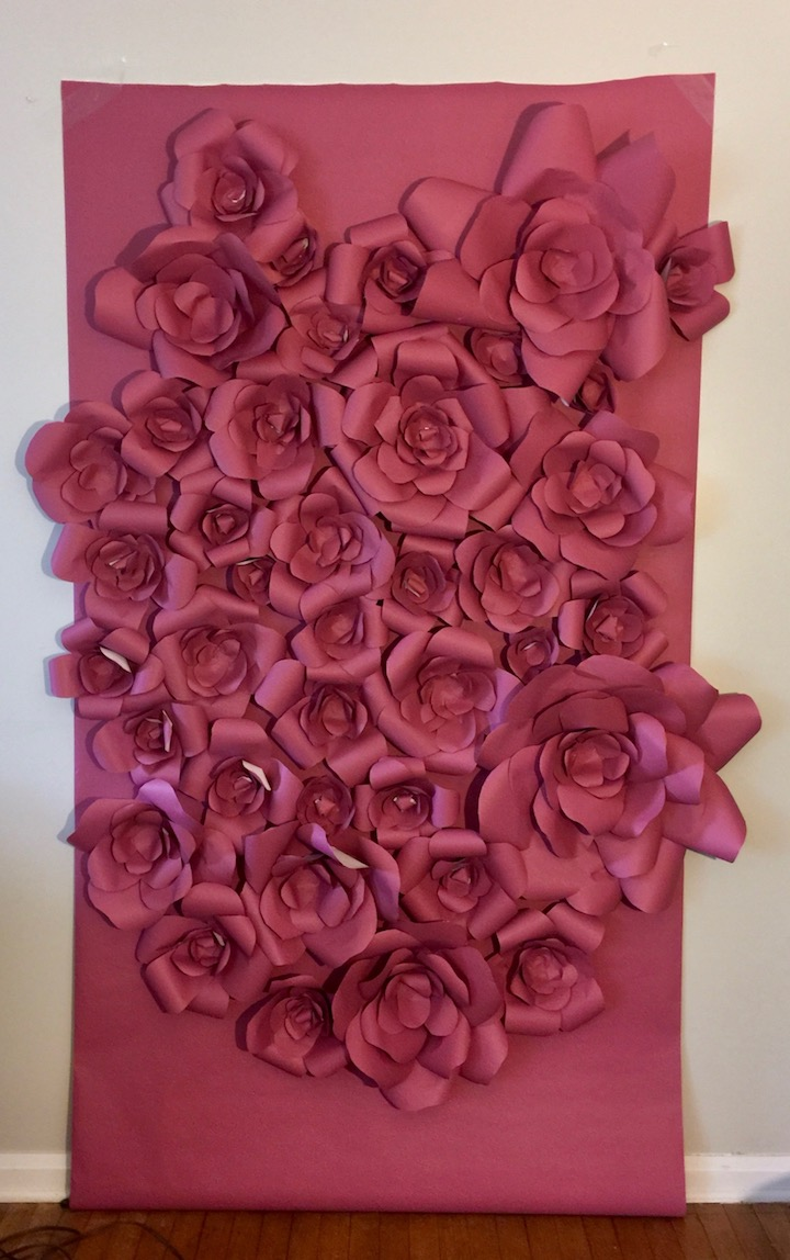 DIY or BUY Paper Flower Backdrop