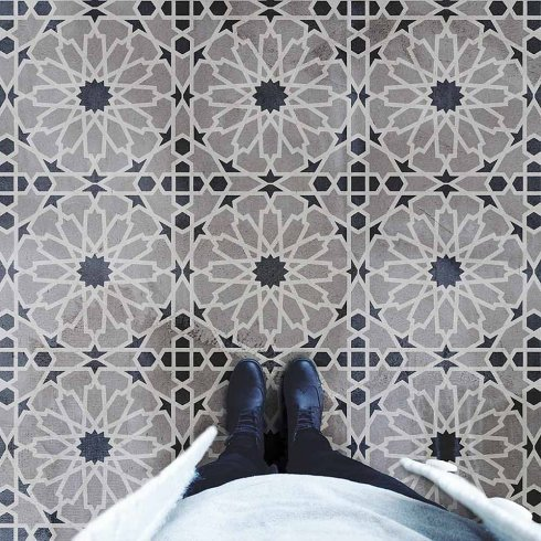 Moroccan-Tile-Stenciled-Floor-DIY-Tiles-Stencils